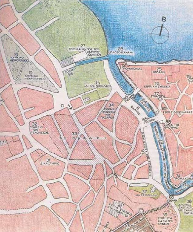 χάρτης ιωαννινων καστρο