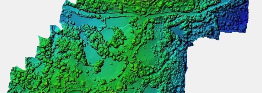 ψηφιακο μοντελο εδαφους