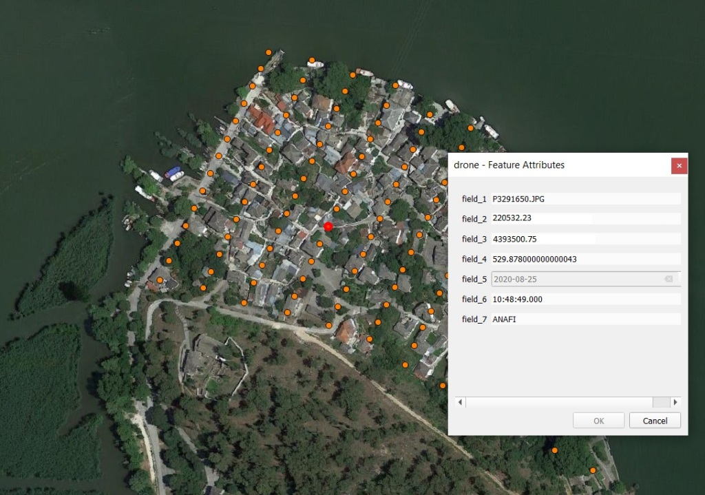 gps data from exif in qgis